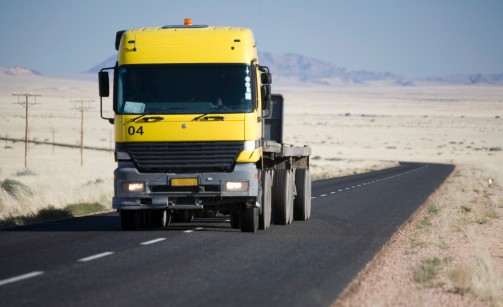 transport routier namibie