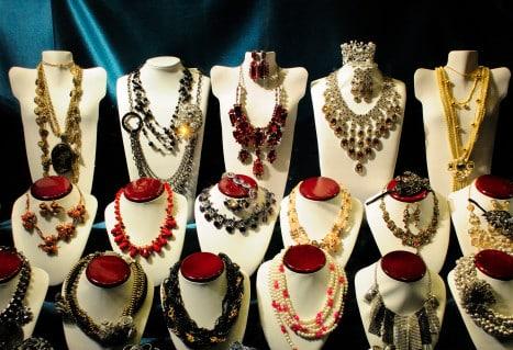 vitrine bijoux fantaisie