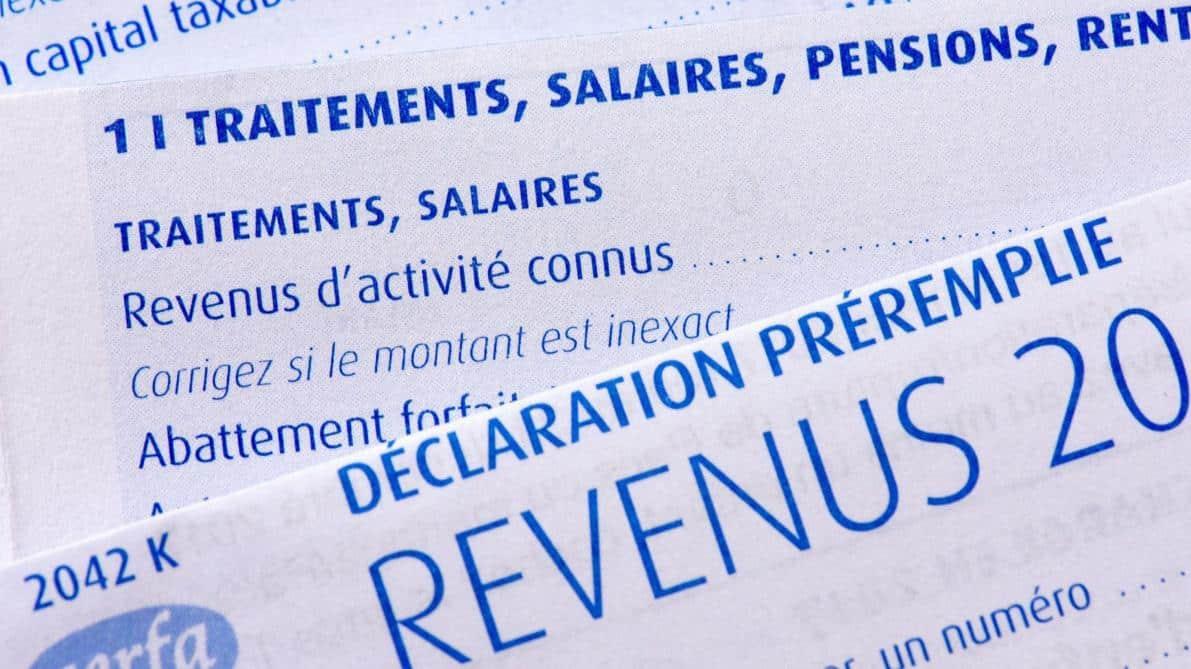 Déclaration revenus VDI