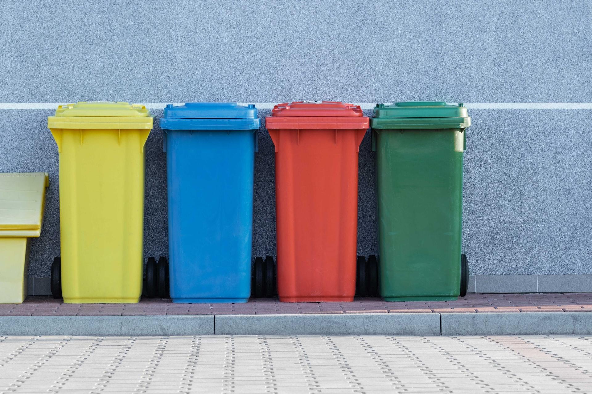 recyclage câbles poubelles